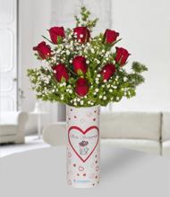 Seni Seviyorum Vazoda  Güller