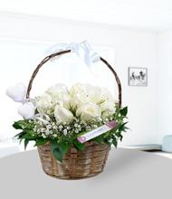Sepetli Çiçekler