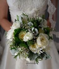 Gelin Buketi (Beyaz güller)